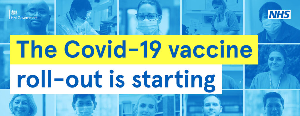 The Covid-19 vaccine rollout is starting.